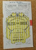 Bless the Bride Theatre programme 1948 Charles B Cochran musical vintage 1940s